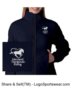 MTR Ladies Fleece Jacket Design Zoom